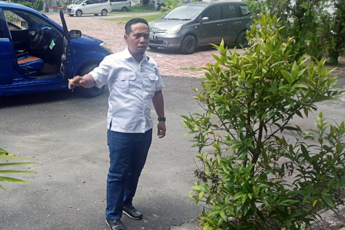 Anggota DPRD Kota Ambon dari Fraksi NasDem Mourits Tamaela